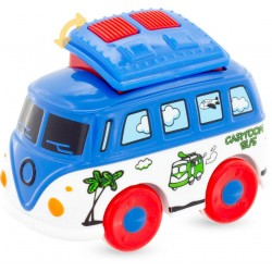 CARTOON DIE-CAST: MINI BUS...