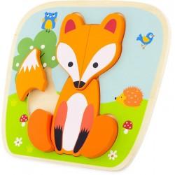 PUZZLE : FOX (6 pcs)