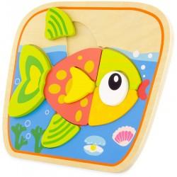 PUZZLE : FISH (8 pcs)