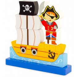 MAGNETIC PUZZLE : PIRATE