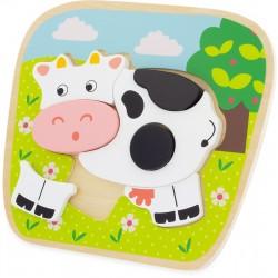 PUZZLE : COW (7 pcs)