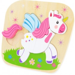 PUZZLE : UNICORN (8 pcs)