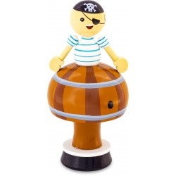 MUSICAL FIGURINE: PIRATE