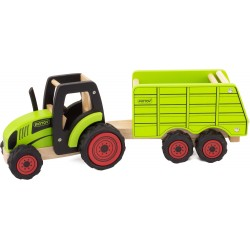 TRACTOR & HOPPER TRAILER -...