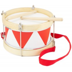 DRUM: RED & WHITE