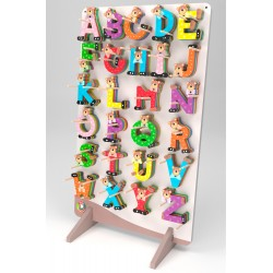 175 ASSORTED BEAR-CUB LETTERS
