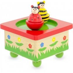 MUSIC BOX: BEE-LADYBUG
