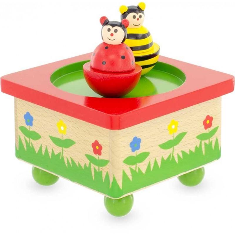 Ulysse Bee Ladybug Music Box