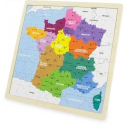 PUZZLE : FRANCE (72 pcs)