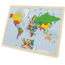 PUZZLE: WORLD (96 pcs)