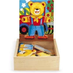DRESS-UP PUZZLE BEAR-CUB BOY