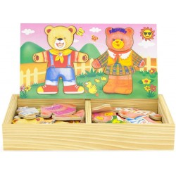 DRESS-UP PUZZLE BEAR-CUB...