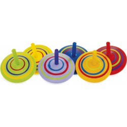 WOODEN TOP: CIRCLE (set of 18)