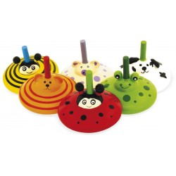 TOUPIE ANIMAL (lot de 12)