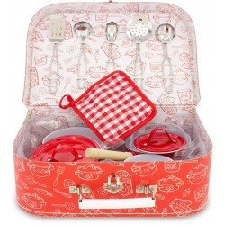SUITCASE: COOKWARE SET